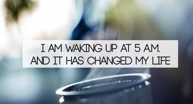 What Happened When I Start to Wake Up at 5am Daily for 3 Months